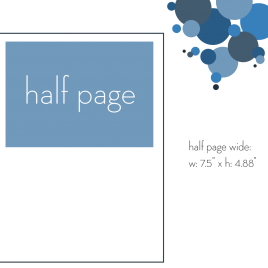 Half Page Wide